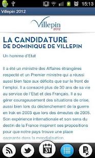 Villepin 2012- screenshot thumbnail