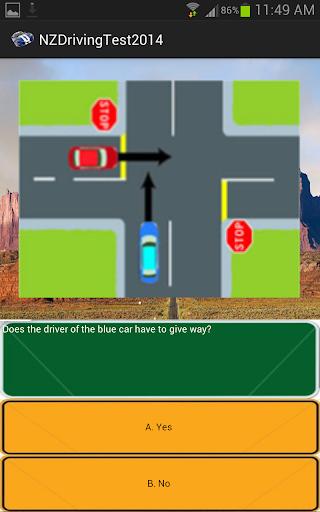 NZ Driving Test 2014