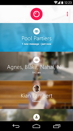 Skype Qik: Group Video Chat 1.9.0.6513-release screenshot 1729
