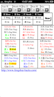 Screenshot of QMDJ ChaiBu Plot Chart
