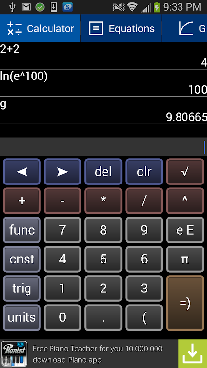 Free Graphing Calculator 2 – (Android Apps) — AppAgg