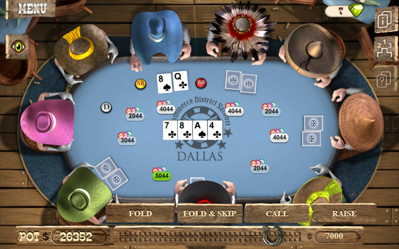 free games of texas holdem