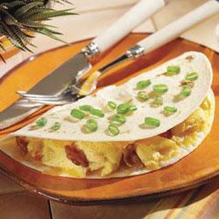 Crispy Breakfast Quesadilla