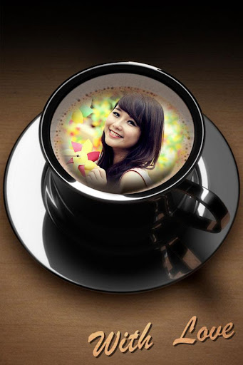 Coffee Mug Photo Frame