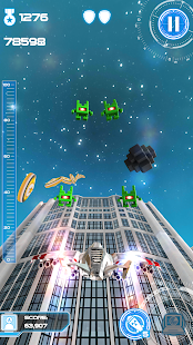 Jet Run: City Defender Screenshot