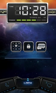 Nebul GO Locker Theme - screenshot thumbnail