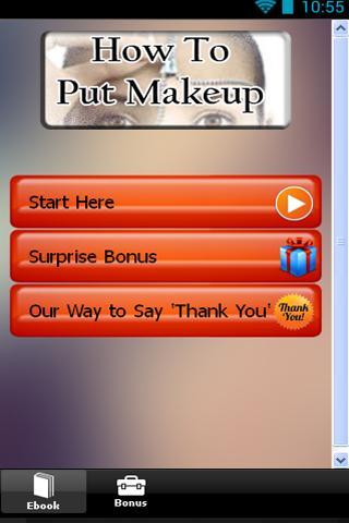 How To Put Makeup