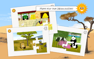 Screenshot of wildlife & farm animal for kid