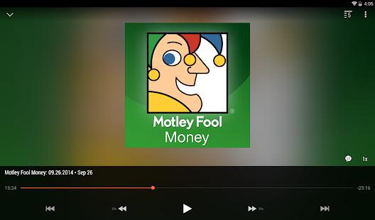BeyondPod Podcast Manager Screenshot
