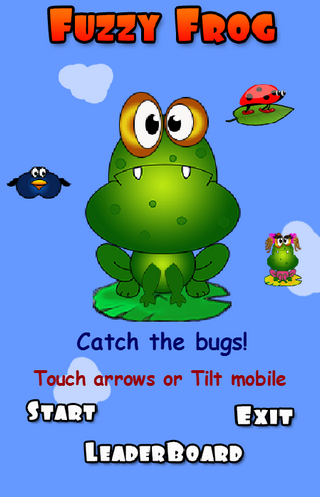 Fuzzy The Frog