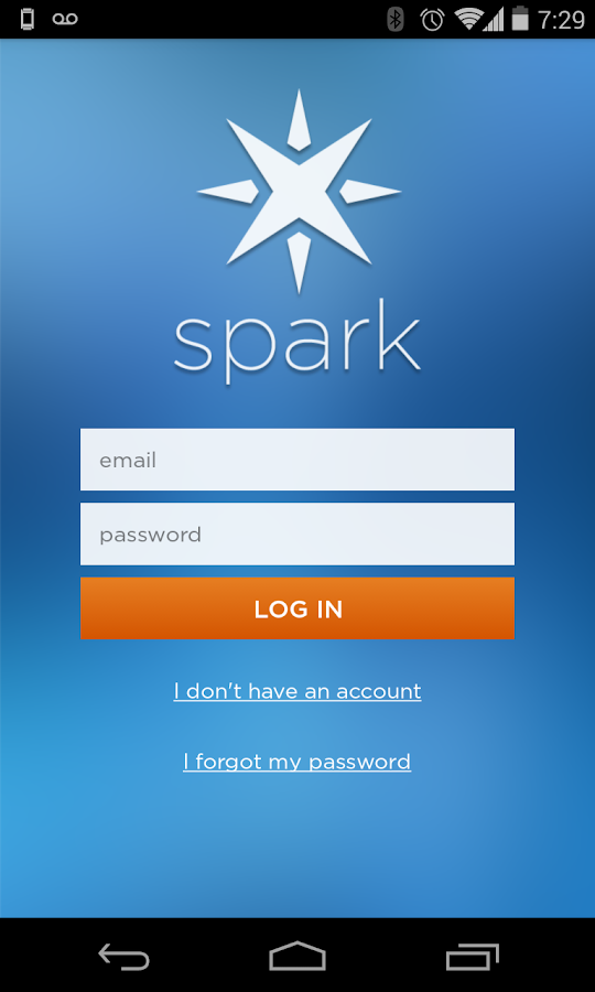 Spark Core - screenshot