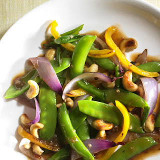 Sugar Snap and Snow Pea Stir-Fry