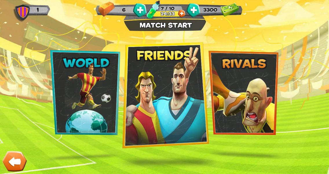 Disney Bola Soccer - screenshot