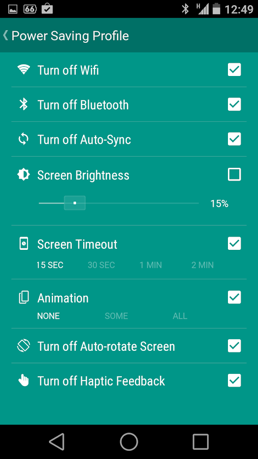 Bataria Pro - Battery Saver - screenshot