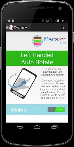 玩工具App|Left Handed Auto Rotate Free免費|APP試玩