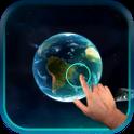 Magic Ripple : 3D Galaxy LWP icon