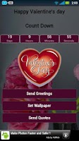 Screenshot of Valentine's Day Greetings HD