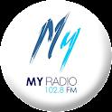 MY RADIO 102.8 FM logo