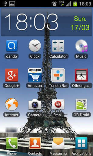 Eiffel Tower 3D FREE Wallpaper