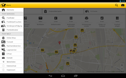 Post mobil Screenshot 7