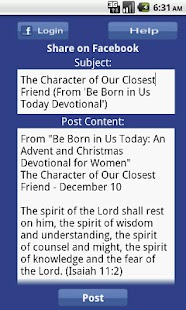 Be Born in Us Today Devotional- screenshot thumbnail