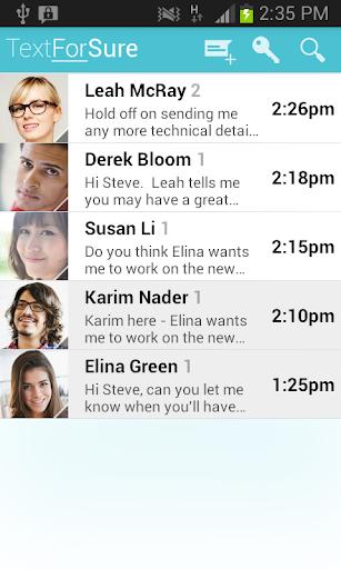 TextForSure - private SMS