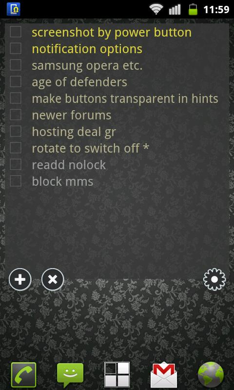 To Do List Widget Pro - screenshot