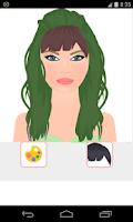 Screenshot of cut hair games