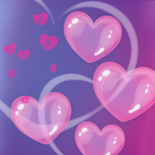 Bubble Hearts LWP (Free)
