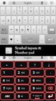 Screenshot of Super Keyboard - Free
