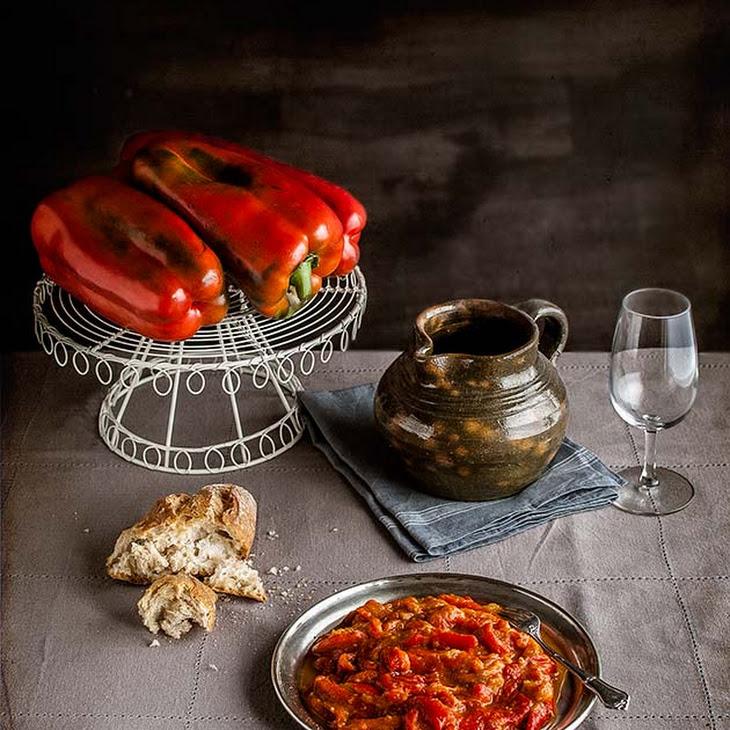 La Mancha-style Grilled Pepper and Tomato Spread