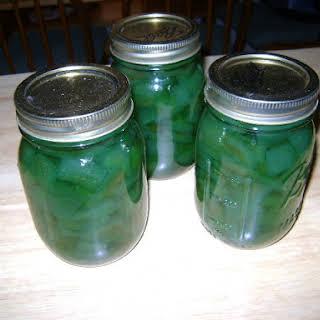 Watermelon Pickles.
