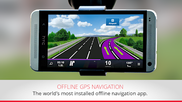 Screenshot of GPS Navigation & Traffic Sygic