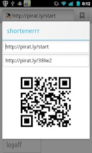 shortenerrr pirat.ly - screenshot thumbnail