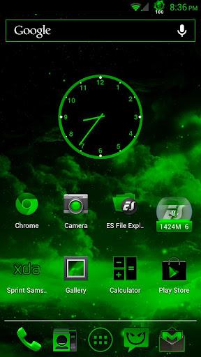 Acid Green CM10.1 Theme