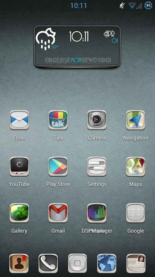 NEU Theme ADW,NOVA,APEX - screenshot