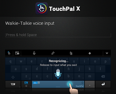 TouchPal X Keyboard - screenshot thumbnail