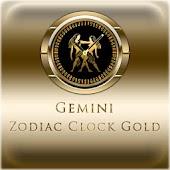 GEMINI - Zodiac Clock