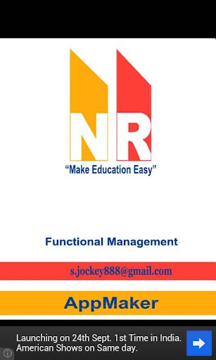 Functional Management