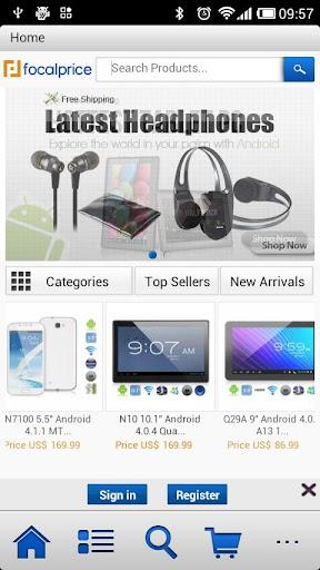 Focalprice Mobile App