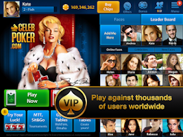 Screenshot of Texas Holdem Poker VIP