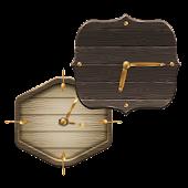 uccw skin wood clock