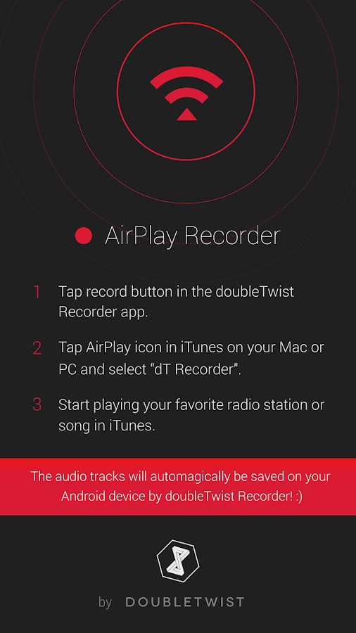 AirPlay Recorder for Android - screenshot
