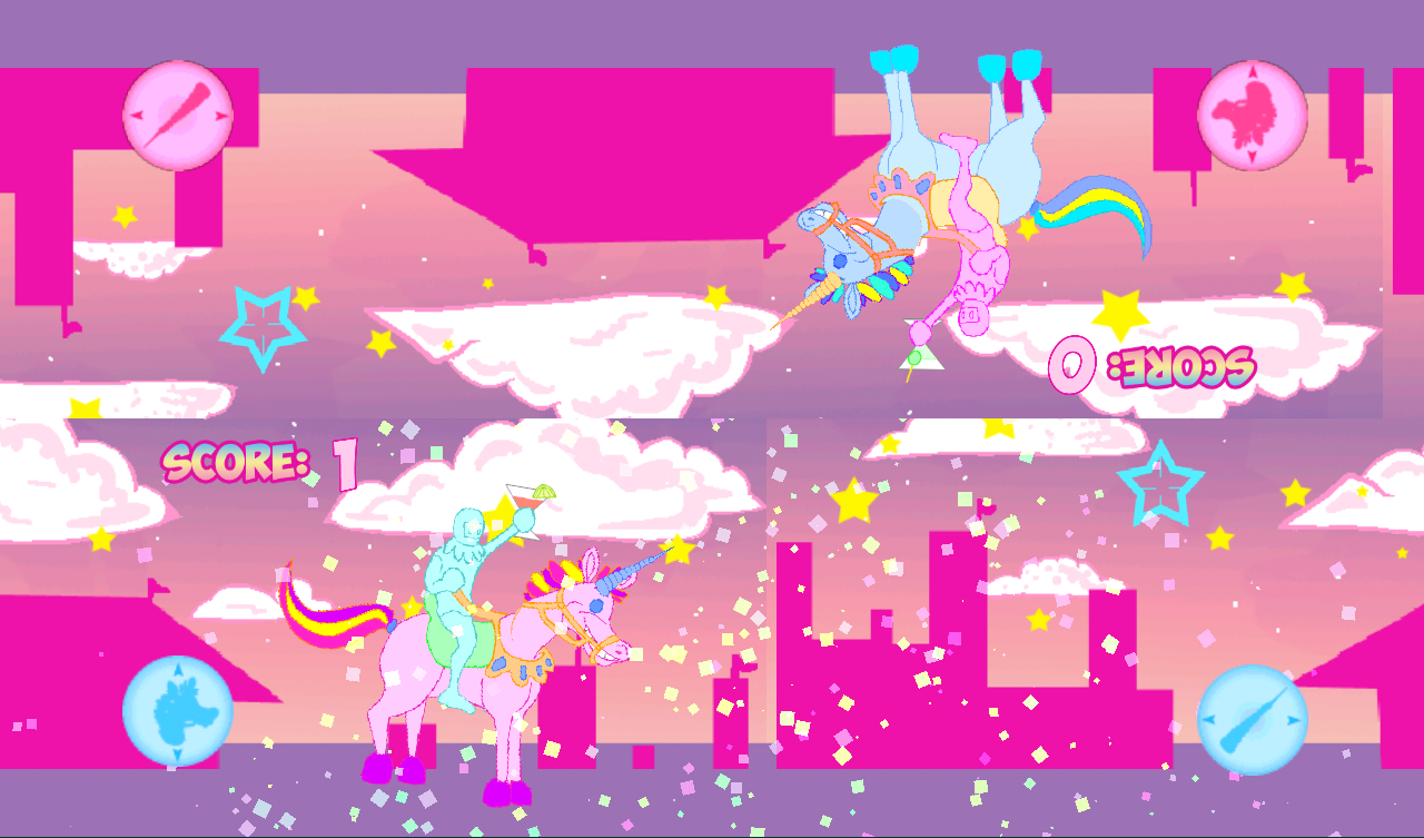 Unicorn Joust- screenshot