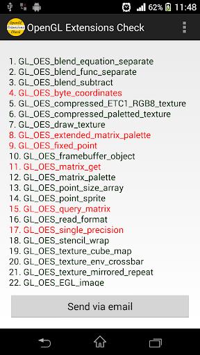 OpenGL Extensions Check