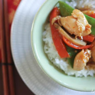 Easy Orange Chicken Stir-fry