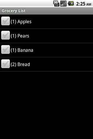 Grocery Assistant (Alpha)  screenshots 1