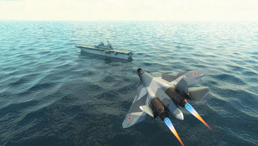 Navy Boat Jet Parking Game