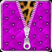 ★ Purple Zipper Lock Screen ★