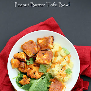 Peanut Butter Tofu Bowl Recipe